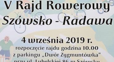 V Rajd Rowerow z Szówska do Radawy