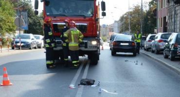Śmiertelne potrącenie pieszej na ul. 3 Maja w Jarosławiu