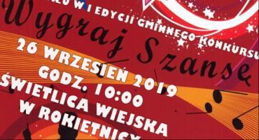 I edycja gminnego konkursu Wygraj Szansę