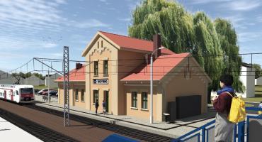 Zabytkowy dworzec kolejowy w Radymnie odzyska blask! Startuje modernizacja