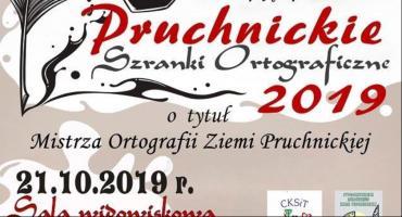 IX edycja Dyktanda Pruchnickie Szranki Ortograficzne 2019