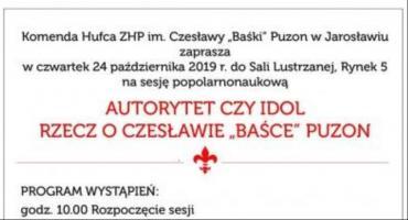Sesja popularnonaukowa o Czesławie