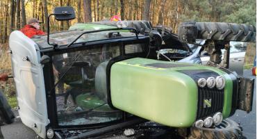 Wypadek na drodze do Radawy. Droga była zablokowana kilka godzin