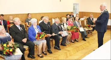 Złote Gody par z gminy Roźwienica