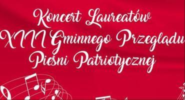 Koncert Laureatów XIII Gminnego Przeglądu Pieśni Patriotycznej