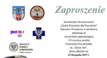 Uroczystości upamiętniające 110 rocznicę urodzin Franciszka Przysiężniaka ps.