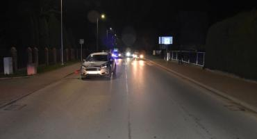 Piesza potrącona na ulicy Złota Góra w Radymnie
