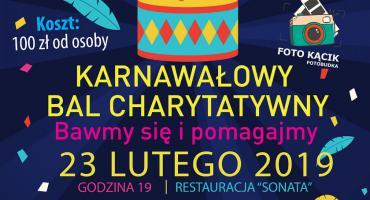 Karnawałowy Bal Charytatywny - Bawmy się i pomagajmy