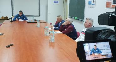 [LIVE] Konferencja działaczy z łomżyńskich klubów sportowych