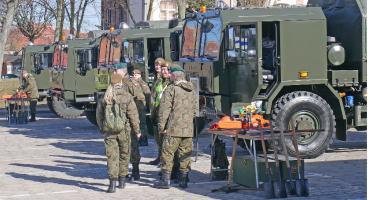 Łomża: Terytorialsi zaprezentowali sprzęt [VIDEO i FOTO]