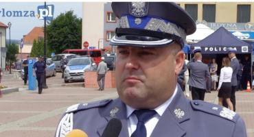 Komendant Kołnierowicz z pierwszą taką naganą w policji?