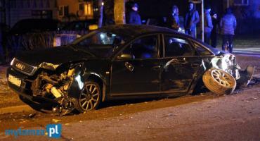 Szaleńczy pościg ulicami Łomży: Kierowca miał 2 promile i zakaz prowadzenia pojazdów