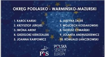 Znamy pełną listę kandydatów PiS w wyborach do Parlamentu Europejskiego