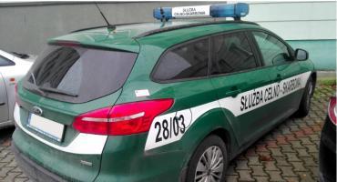 Łomża: Funkcjonariusze KAS zatrzymali 29-letniego złodzieja