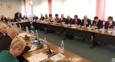 VII sesja Rady Miejskiej Łomży [LIVE]