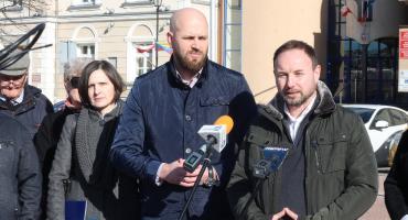 Łomża: Tomasz Frankowski na Starym Rynku [FOTO i VIDEO]
