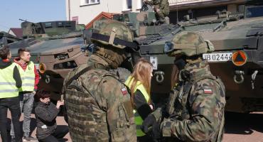 Wizna: 12 Brygada Zmechanizowana pokazała swój sprzęt [VIDEO i FOTO]