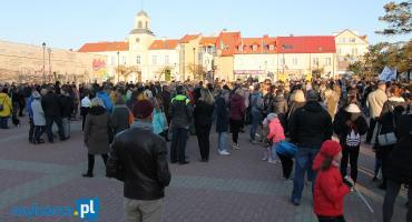 Nauczyciele z Łomży pokazali swoją siłę! [VIDEO i FOTO]