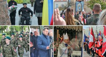 Łomża: Rocznica uchwalenia Konstytucji 3 Maja [VIDEO i FOTO]