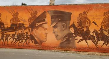 W Wiźnie powstał kolejny historyczny mural [FOTO]