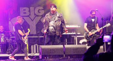 Koncert Big Cyca w strugach deszczu [VIDEO i FOTO]