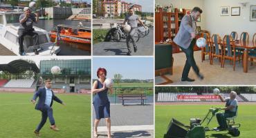 Freestylowe piłkarskie triki promują jubileusz 10-lecia łomżyńskiego MOSIR-u [VIDEO]