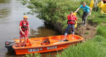 Łomża: Udane sprzątanie brzegu Narwi [VIDEO i FOTO]