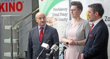 Łomżyńskie Anioły Biznesu: Konferencja prasowa