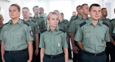 Nowi funkcjonariusze podlaskiej KAS [FOTO]