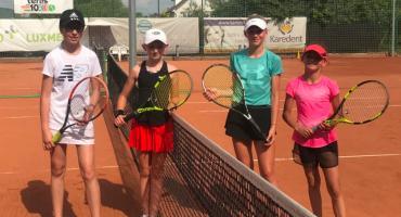 Udane starty łomżyńskich tenisistów [FOTO]