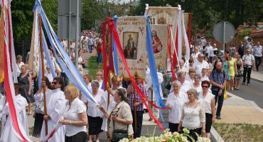 Łomża: Tysiące wiernych uczestniczyło w procesjach [FOTO]