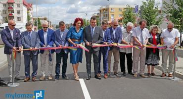 Łomża: Ulica Szmaragdowa już otwarta [VIDEO i FOTO]