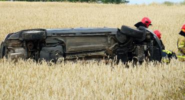 Wypadek na drodze do Nowogrodu! Trzy osoby w szpitalu [FOTO]