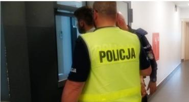 Łomża: Policyjny pościg zakończony zatrzymaniem sprawców pobicia!