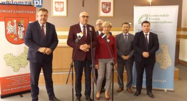 Pierwsza konferencja nowego zarządu Łomżyńskiego Forum Samorządowego [VIDEO]