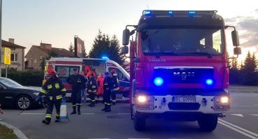 Rowerzysta w szpitalu po potrąceniu na ul. Sikorskiego [FOTO]