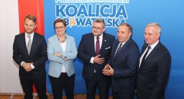 Liderzy Koalicji Obywatelskiej w wyborach do Sejmu. Jest kandydat z Łomży