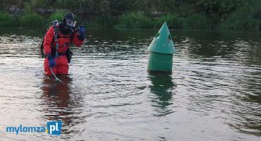Łomża: Nad rzeką znaleziono ubrania dziecka. W akcji straż i policja! [FOTO]