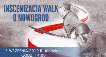 W niedzielę Inscenizacja Walk o Nowogród z 1939 roku