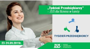 """""""Tydzień Przedsiębiorcy"""" – ZUS dla Biznesu w Łomży"""