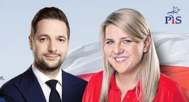 [LIVE] Konferencja prasowa europosła Patryka Jakiego i Aleksandry Szczudło