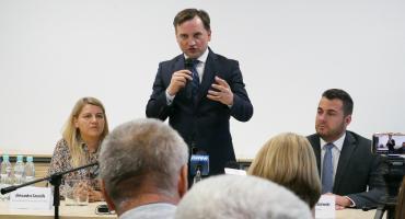Zbigniew Ziobro przyjechał do Łomży. Przedwyborcze spotkanie z ministrem [VIDEO i FOTO]