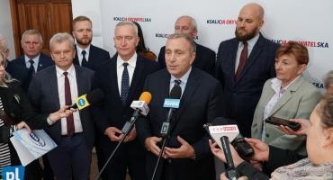 Łomża: Grzegorz Schetyna trzyma kciuki za miejscowych kandydatów [FOTO i LIVE]