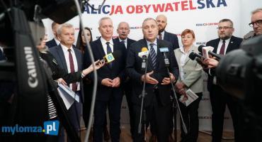 Konferencja Koalicji Obywatelskiej z udziałem Tomasza Siemoniaka [LIVE]