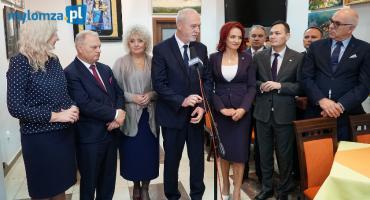 Wicemarszałek Senatu w Łomży: