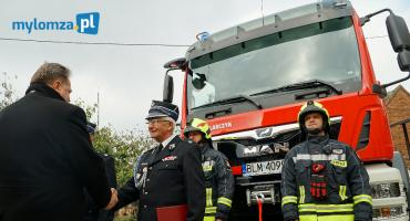 Nowogród: Nowy wóz zastąpił starego Jelcza [VIDEO i FOTO]