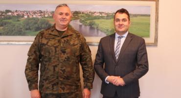 Rozmawiano o współpracy miasta z wojskiem