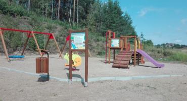 Nowa infrastruktura rekreacyjna w gminie Łomża [FOTO]