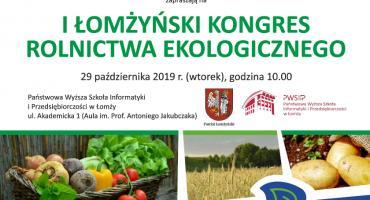 I Łomżyński Kongres Rolnictwa Ekologicznego [LIVE]
