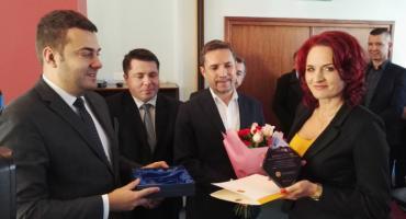 Władze miasta dziękują posłance Krynickiej [FOTO]